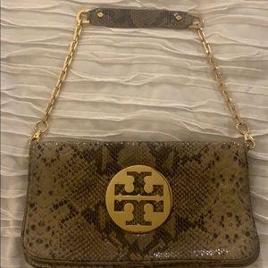 Tory Burch Snake Skin purse